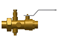 Ball Valve with Union (1/2 in., 3/4 in., 1 in., 1-1/4 in., 1-1/2 in. & 2 in.)