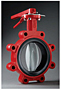 BFA- Butterfly Valve - Cast Iron Lug Style Flanged Handle (2 in., 2-1/2 in., 3 in., 4 in., 6 in. & 8 in.)